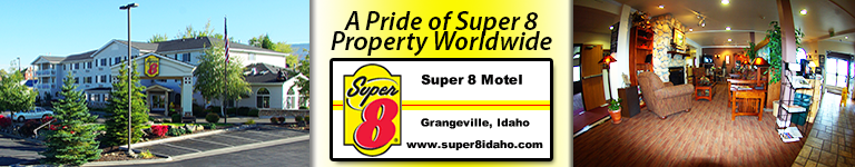 Idaho River Rafters Love Staying at the Award Winning Super 8 Grangeville ID !!