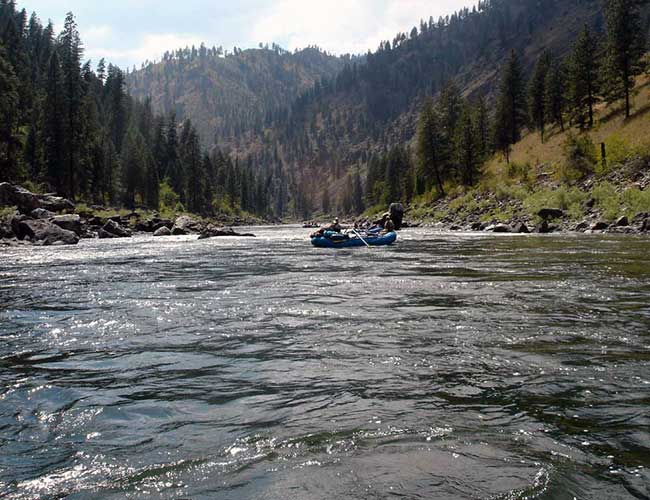 Whitewater Rafters on the Salmon River