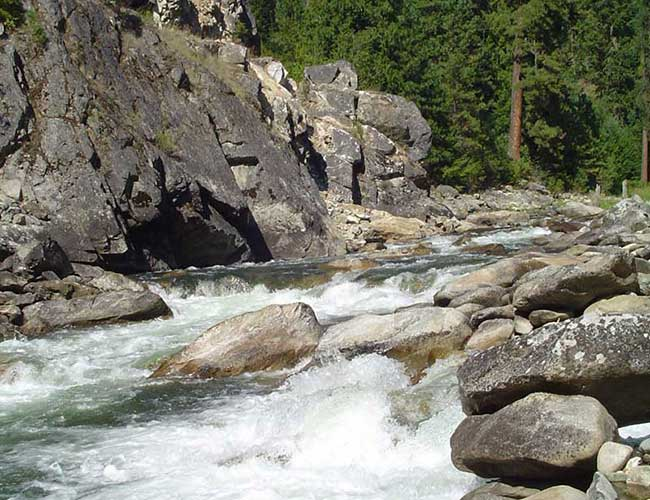 Whitewater on the Selway River